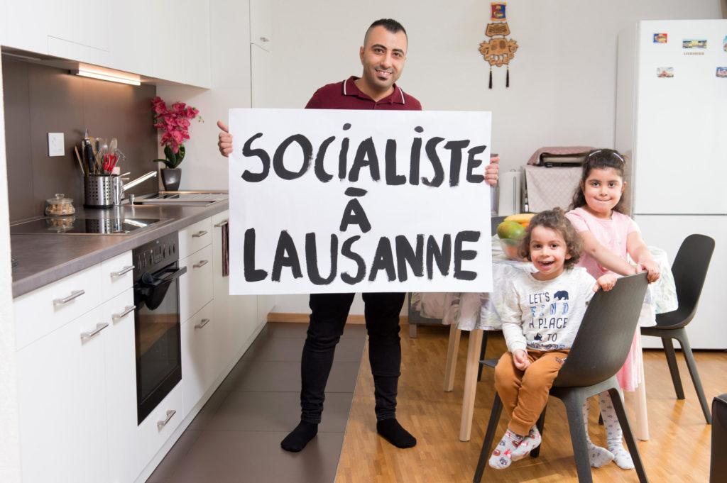 Socialistes à Lausanne
